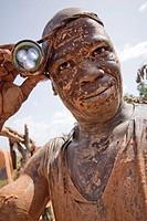 Siguiri. Republic of Guinea. Gold mine near Mali´s boder
