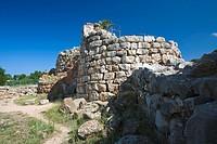 Nuraghe de Palmavera, near Fertilia. Sassari Province. Sardegna. Italia