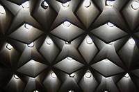 Hamam´s ceiling Dolmabahçe Sarayi Harem Istanbul, Turkey
