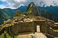Machu Picchu sacred city of the Inca empire, Cusco region, Peru