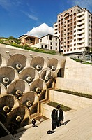 Cascade complex at downtown Yerevan, Jerewan, Armenia, Asia