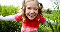 girl smilingat camera,portrait