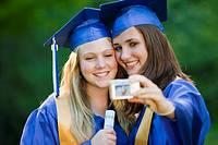 Graduates pose for photo