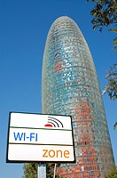 Agbar Tower 142 m   by Jean Nouvel, Barcelona  Catalonia, Spain
