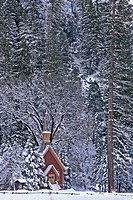 A church in Yosemite NP