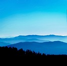 View from Clingmans Dome, Great Smoky Mountains National Park, Tenessee