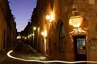 Knight Area at Rhodes City / Ritterviertel in Rhodos Stadt