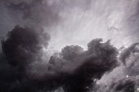 Storm clouds overhead