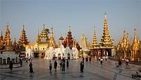 Myanmar, Burma, Yangon, Rangoon, Shwedagon Pagoda,