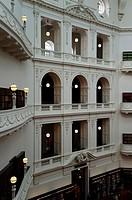 State Library of Victoria, main hall, Melbourne, Victoria, Australia