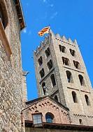 Romanesque monastery of Santa María de Ripoll 12th century  Ripollès  Girona province  Catalonia  Spain