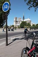 Notre Dame Cathedral, Paris, Île-de-France, France