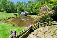 Historic Mabry Mill is a beautiful working watermill located in Floyd County Virginia, on the Blue Ridge Parkway