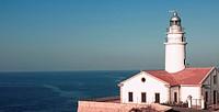Capdepera´s lighthouse, Cala Ratjada Cala Rajada  Majorca  Balearic Islands  Spain