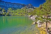Laguna Negra, Sierra de Urbión, Vinuesa, Soria province, Castile-Leon, Spain