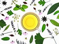 Medicinal plants infusion