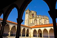 Tomar, Convent of the Order of Christ, Santarem District, Ribatejo, Portugal.