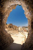 Roman Amphitheatre in Cartagena, Murcia, Spain