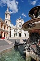 Italy, Marche Region, Loreto, Basilica della Santa Casa