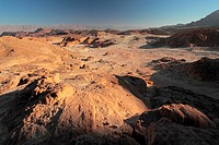 Israel, Eilat Mountains, Timna Valley Park, site of Egyptian copper mines