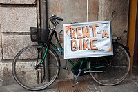 Bike for rent in Ferrara, Emilia-Romagna, Italy