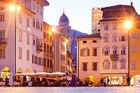 Piazza Duomo, Trento, Italy