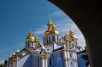 Ukraine, Kiev, St  Michael´s Golden-Domed Monastery.