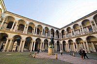 Academy of Fine Arts, Accademia Brera, Milan, italy