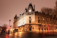The famous silversmiths Shore, Night View, beside the Seine, at number 36 are the seat of Staff, and common services of the regional branch of the jud...
