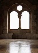 neo-Romanesque window