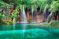 National Park of Plitvice in Croatia