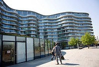 Albion Riverside Apartments designed by Norman Foster