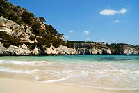 Cala Macarelleta, Minorca, Balearic Islands, Spain