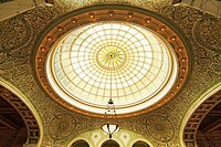 Largest Tiffany Dome, Chicago Cultural Center, Illinois