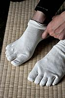 Naha (Japan): five-fingers socks
