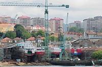 Shipyards  Vigo, Spain