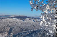 Winter scenery at Skalnata, Male Karpaty, Slovakia