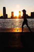 Manhattan Sunset Jogger