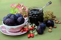 delicious plum-jam