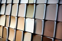 Paint Color Chip Samples