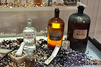 Firenze (Italy): essences at the Officina Profumo-Farmaceutica di Santa Maria Novella