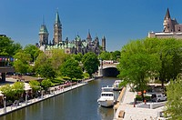 Overview of the Ottawa Parliament Buildings Rideau Canal National Arts Centre and Chateau Laurier