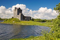 Dunguaire Castle, Kinvara Harbour, Galway, Ireland.