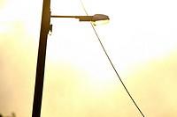 Streetligh under the sun