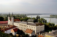 Hungary, Esztergom, the Jesuit Church and the ´Danube Bend´