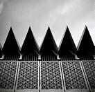 The National Mosque of Malaysia in Kuala Lumpur in Malaysia in Southeast Asia Far East.