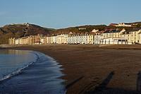 Aberystwyth Seafront, Aberystwyth, Wales, UK