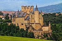 Alcazar Segovia, Castilla La Mancha, Spain