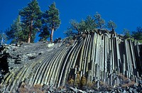 Devils Postpile National Monument, California, USA