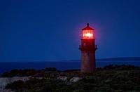 Gay Head Lighthouse, Aquinnah, Martha´s Vineyard, Massachusetts, USA